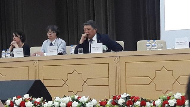 International Conference in Ashgabat
