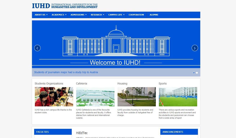 www.IUHD.edu.tm