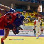 Наши спортсмены завоевали 14 медалей на Чемпионате Азии по самбо в Ташкенте